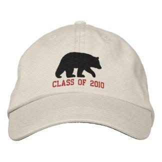 Black Bear with Customizable Text Cap