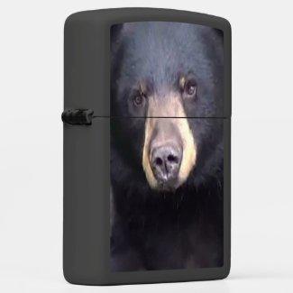 Black Bear Zippo Lighter