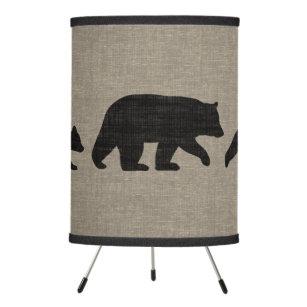 bear silhouette table pendant lamps zazzle