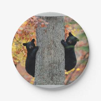 Black Bears plates