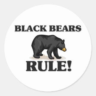 BLACK BEARS Rule Sticker