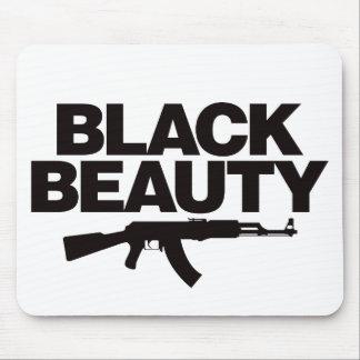 Black Beauty AK - Black Mouse Pad