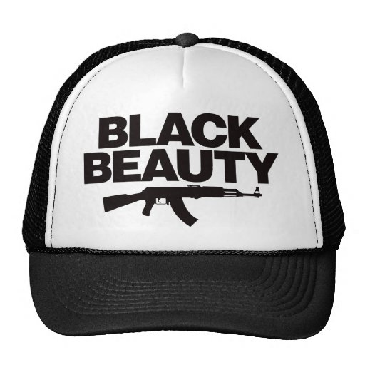 Black Beauty AK - Black Trucker Hat