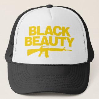 Black Beauty AR - Yellow Trucker Hat