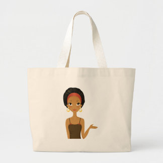 Black beauty canvas bags
