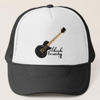 Black Beauty Grunge Trucker Hat