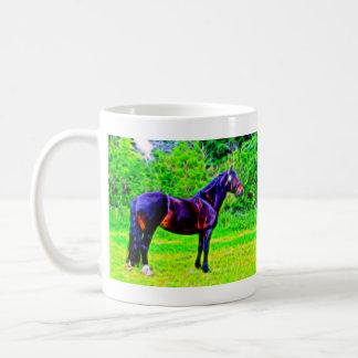 Black Beauty Classic White Coffee Mug