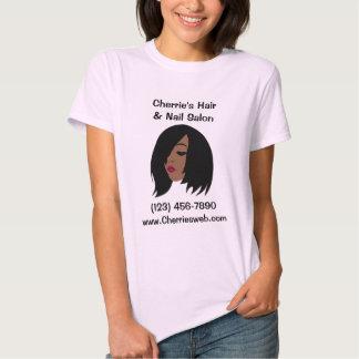Black Beauty Salon T-Shirt - Customizable