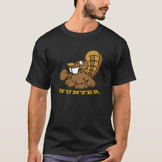 Black Beaver Hunter T-Shirt