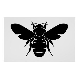Black Bee Poster