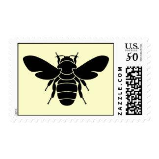 Black Bee Stamp