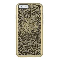 Black & Beige Leopard Camouflaged In Spots Pattern Incipio Feather Shine iPhone 6 Case