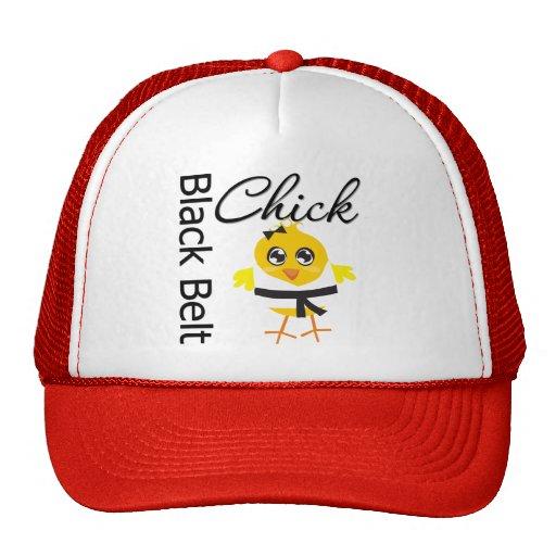 Black Belt Chick Trucker Hat