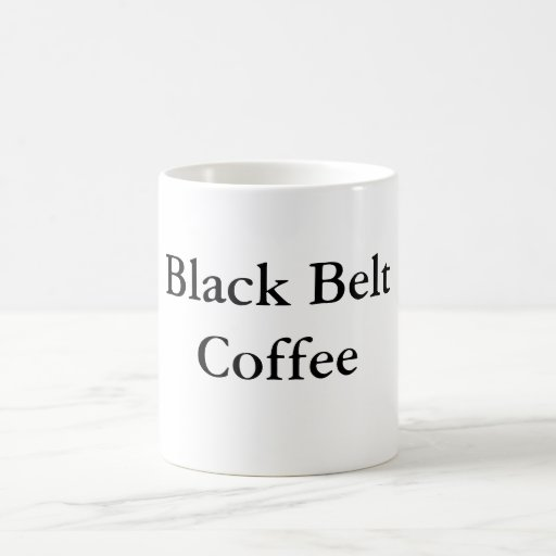 Black Belt Coffee Coffee Mugs