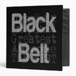 Black Belt Extraordinaire Binders