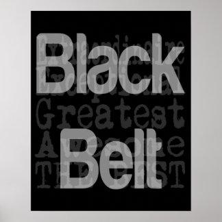 Black Belt Extraordinaire Poster