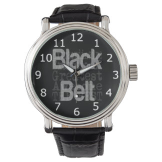 Black Belt Extraordinaire Wrist Watch