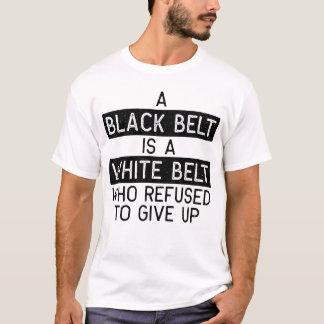 Black Belt is a White Belt Shirt BJJ, Karate
