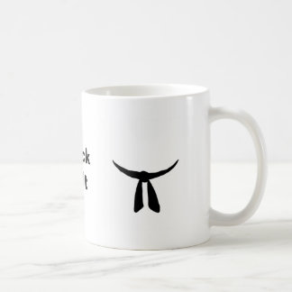 Black Belt Party Coffee Mug