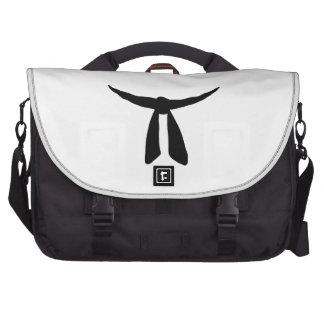 Black Belt Party Computer Bag