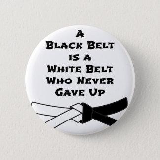 Black Belt Pinback Button