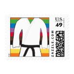 Black Belt Postage Stamp