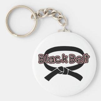 Black Belt (red) Key Chain