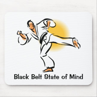 Black Belt State of Mind Mousepad, style 2