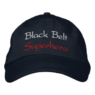 Black Belt Superhero Baseball Cap