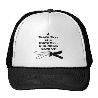 Black Belt Trucker Hat