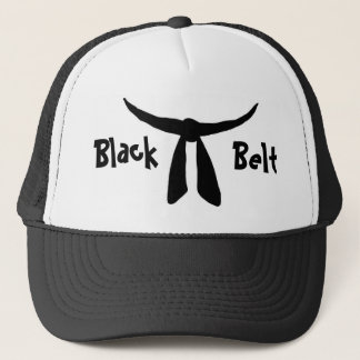 Black Belt Trucker Hat