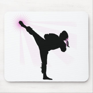 Black Belts Wear Pink Too! Mouse Pad