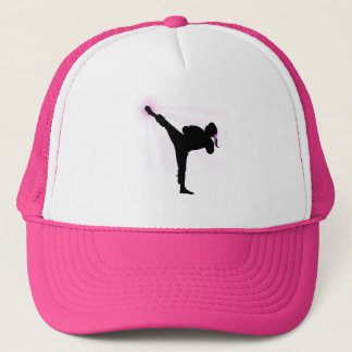 Black Belts Wear Pink Too! Trucker Hat