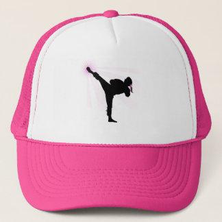 Black Belts Wear Pink Too! Trucker Hat