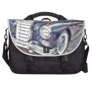 Black Benz Laptop Commuter Bag