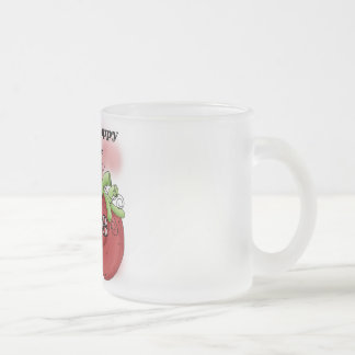 Black Berry 1st Birthday T-shirts and Gifts Frosted Glass Coffee Mug