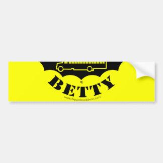 Black Betty sticker 2of2