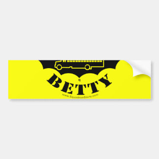 Black Betty sticker 2of2 Bumper Sticker