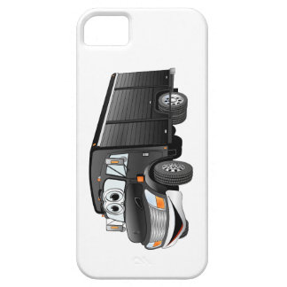 Black Beverage Truck Cartoon iPhone SE/5/5s Case