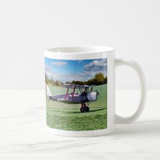 Black Bi Plane Coffee Mug