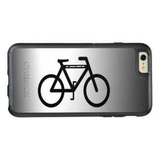 Black Bicycle Abstract OtterBox iPhone 6 Plus Case