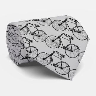 Black Bicycle for sporty man Tie