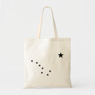 Black Big Dipper Tote Bag