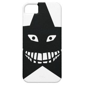 black big grin star iPhone SE/5/5s case