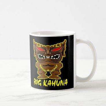 WhiteTiger_LLC Black Big Kahuna Tiki God Coffee Mug