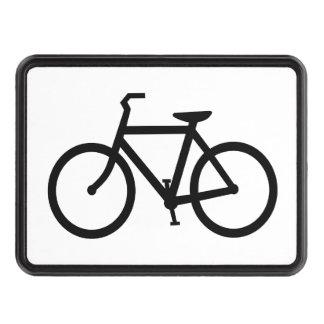 Black Bike Tow Hitch Covers