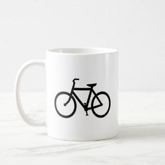 Black Bike Route Coffee Mug