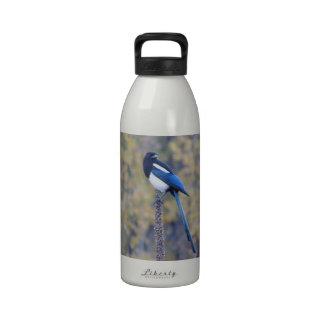 Black Billed Magpie Drinking Bottle