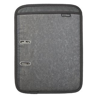 Black binder sleeve for iPads