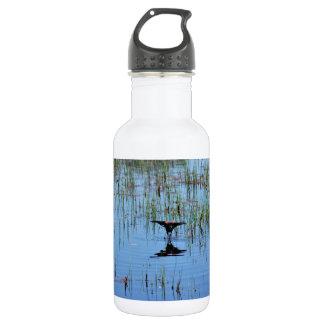 Black Bird Balancing Act Stainless Steel Water Bottle